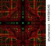 abstract background laser light ... | Shutterstock . vector #444584140