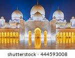 abu dhabi   feb  19th 2016 ...   Shutterstock . vector #444593008