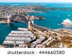 sydney harbour bridge  amazing... | Shutterstock . vector #444660580