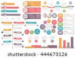 set of infographic elements  ... | Shutterstock .eps vector #444673126