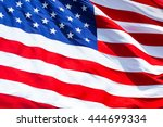 flag of united states.closeup... | Shutterstock . vector #444699334