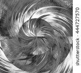 art abstract graphic spherical... | Shutterstock . vector #444727570