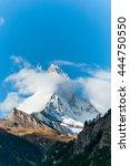 Vintage Photo Of Matterhorn Big ...