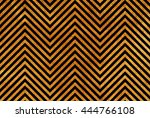 golden painted stripes... | Shutterstock . vector #444766108