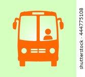 bus icon. schoolbus simbol. | Shutterstock .eps vector #444775108