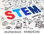 stem education. science... | Shutterstock . vector #444825250