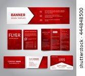 banner  flyers  brochure... | Shutterstock .eps vector #444848500
