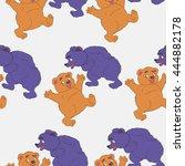 bears vector | Shutterstock .eps vector #444882178