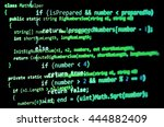 Programming Code   Green Color  ...