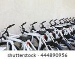 White Bicycle Parking