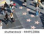 los angeles  usa   april 5 ... | Shutterstock . vector #444912886