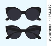 sunglasses. vector illustration | Shutterstock .eps vector #444921850