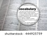 concept design for the word ... | Shutterstock . vector #444925759
