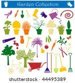 garden collection | Shutterstock .eps vector #44495389