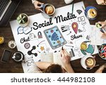 Social Media Networking Global...