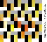 interior decorative tiles.... | Shutterstock .eps vector #444985366