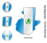 fully editable vector flag of... | Shutterstock .eps vector #44498656