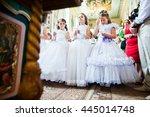 mukyluntsi   ukraine   26 june  ... | Shutterstock . vector #445014748