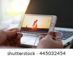 bangkok  thailand   june 12 ...   Shutterstock . vector #445032454