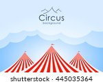 vector illustration  circus... | Shutterstock .eps vector #445035364