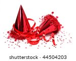 Party Hats  Paper Streamer...