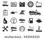 repair and maintenance of... | Shutterstock .eps vector #445043320