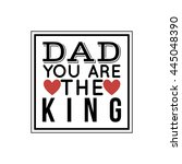 father day label | Shutterstock .eps vector #445048390