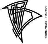 celtic knot  2 | Shutterstock .eps vector #4450504