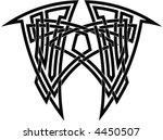 celtic knot  4 | Shutterstock .eps vector #4450507