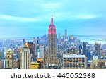 new york  usa   october 10  ... | Shutterstock . vector #445052368