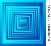 radiating overlapping square... | Shutterstock .eps vector #445074550