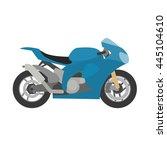 sport motorcycle | Shutterstock .eps vector #445104610