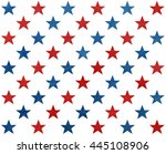 pattern with dark blue and red... | Shutterstock . vector #445108906