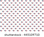 american flag pattern with... | Shutterstock . vector #445109710