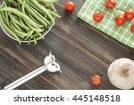 beans string   Shutterstock . vector #445148518
