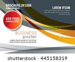 background concept design for...   Shutterstock .eps vector #445158319
