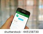 montreal  canada   june 23 ... | Shutterstock . vector #445158730