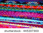 colorful cloth background...   Shutterstock . vector #445207303