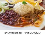 A Typical Lunch Of Beef  Beans...