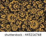 vector seamless pattern in... | Shutterstock .eps vector #445216768