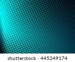 dotted grunge shiny black and... | Shutterstock .eps vector #445249174