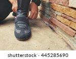 sneakers | Shutterstock . vector #445285690