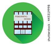 publishing house icon. flat...
