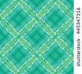 vector watercolor seamless... | Shutterstock .eps vector #445347316