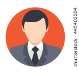 boss vector icon | Shutterstock .eps vector #445402204