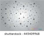 abstract dna background | Shutterstock .eps vector #445409968