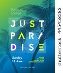 Summer Time Party Poster Desig...