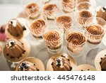 delicious and tasty dessert... | Shutterstock . vector #445476148