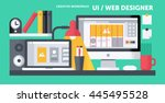 ui   web designer workplace  ...