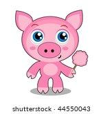 piglet   Shutterstock .eps vector #44550043
